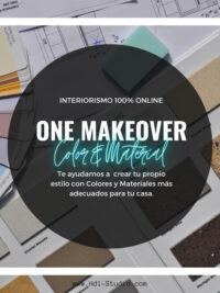 one makeover color and material